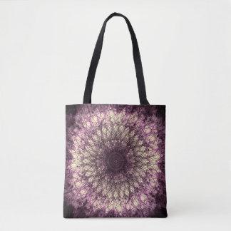 Bolso De Tela Purple Mandala