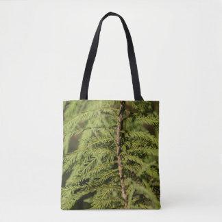 Bolso De Tela Rama de Cypress calvo