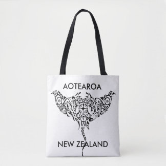 Bolso De Tela rayo 1 de Nueva Zelanda del aotearoa