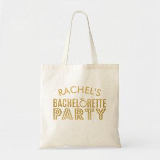 Bolso De Tela Regalo nupcial del tote del fiesta de Bachelorette