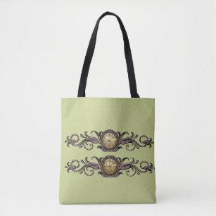 Bolso De Tela Relojes del Victorian