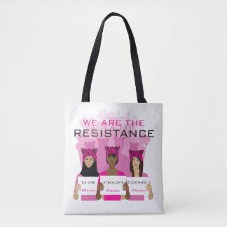 Bolso De Tela RESISTA - somos la resistencia - los gorras