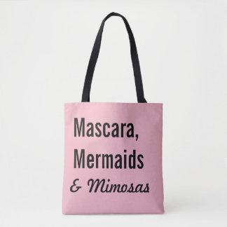 Bolso De Tela Rimel, sirenas y Mimosas
