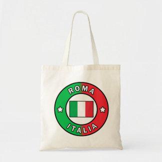 Bolso De Tela Roma Italia