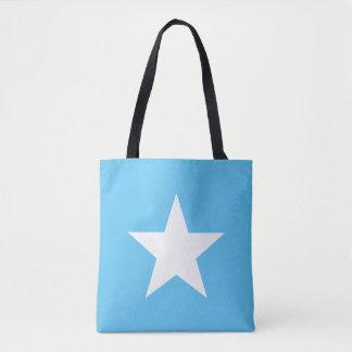 Bolso De Tela Schoudertas Star Light Blue Tote Bag
