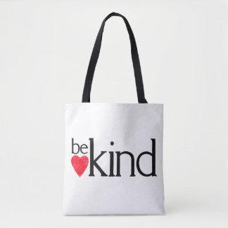 Bolso De Tela Sea bueno - las materias de la amabilidad