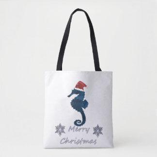 Bolso De Tela Seahorse del navidad