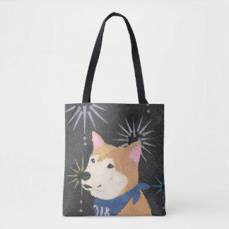 Bolso De Tela Shiba Inu, Shiba anaranjado, año del perro