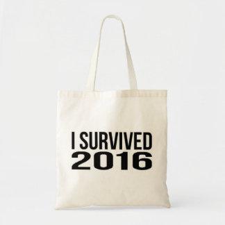 Bolso De Tela Sobreviví 2016