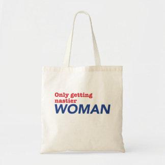 """Bolso De Tela """"Solamente consiguiendo tote de una mujer más"""
