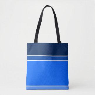 Bolso De Tela sombras del azul