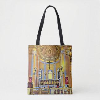 Bolso De Tela Sombras del santuario artístico del bígaro