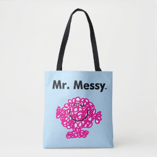 Bolso De Tela Sr. Messy Is Cute de Sr. Men el |, pero sucio
