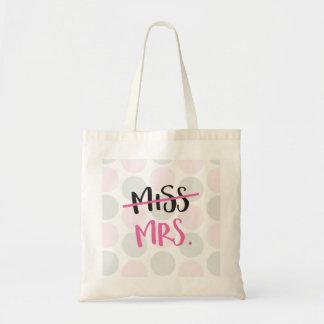 Bolso De Tela Srta. a señora Bag