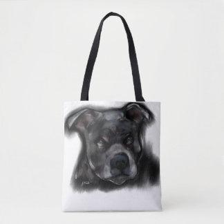 Bolso De Tela Staffordshire Terrier americano