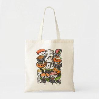 Bolso De Tela Sushi Kawaii