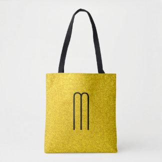 Bolso De Tela Textura del brillo del oro