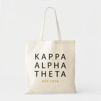 Bolso De Tela Theta alfa el | Est de Kappa. 1870