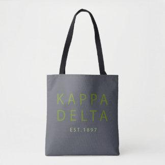 Bolso De Tela Tipo moderno del delta de Kappa