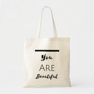 Bolso De Tela Toot Bag Lily Milano: You are Beautiful