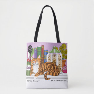 Bolso De Tela Top Cat contrario