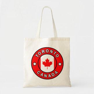 Bolso De Tela Toronto Canadá