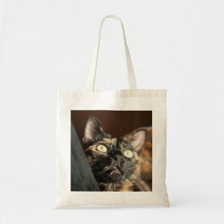 Bolso De Tela tortoiseshell cat bag
