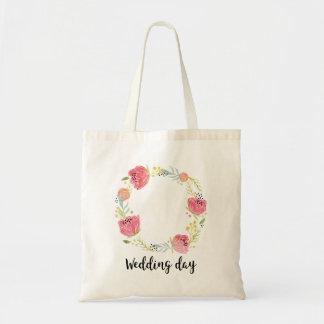 Bolso De Tela Tote Bag - Wedding Day à personnaliser