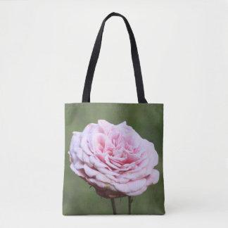 Bolso De Tela Tote color de rosa rosado