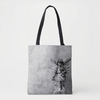 Bolso De Tela Tote cruzado estatuario del cuerpo del ángel