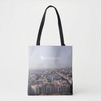 Bolso De Tela Tote de Barcelona