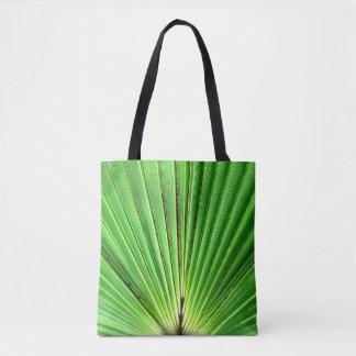 Bolso De Tela Tote de la fronda de la palma