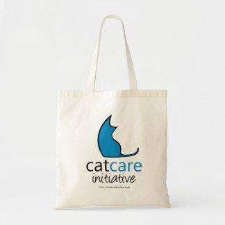 Bolso De Tela Tote de la iniciativa del cuidado del gato