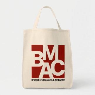 Bolso De Tela Tote de la lona del logotipo de BMAC