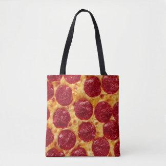 Bolso De Tela Tote de la pizza