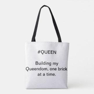 Bolso De Tela Tote de la reina - reino del edificio