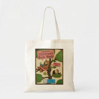 Bolso De Tela Tote de la semana del libro de 2011 niños