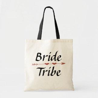 Bolso De Tela Tote de la tribu de la novia
