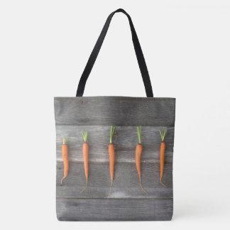 Bolso De Tela Tote de la zanahoria