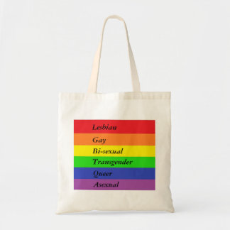 Bolso De Tela Tote de LGBTQA