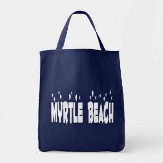 Bolso De Tela Tote de Myrtle Beach, Carolina del Sur, Estados