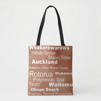 Bolso De Tela Tote de Nueva Zelanda
