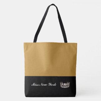 Bolso De Tela Tote de plata Rod de oro Bolso-Grande de la corona