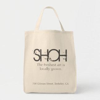 Bolso De Tela Tote del arte de la galería de SHOH