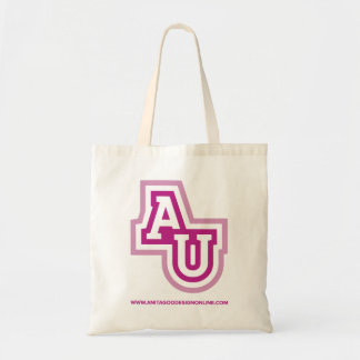Bolso De Tela Tote del icono de la universidad de Anita