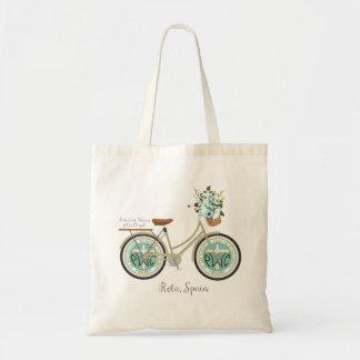 Bolso De Tela Tote del logotipo de la bici de PWOC
