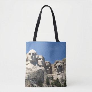 Bolso De Tela Tote del monumento del monte Rushmore