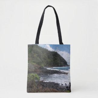 Bolso De Tela Tote del paisaje 1 de Hawaii