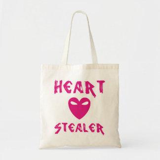 Bolso De Tela Tote del Stealer del corazón