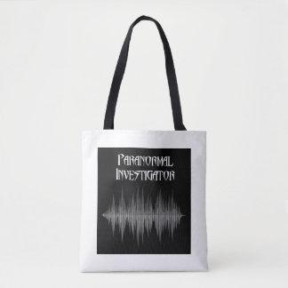 Bolso De Tela Tote paranormal de Soundwave del investigador